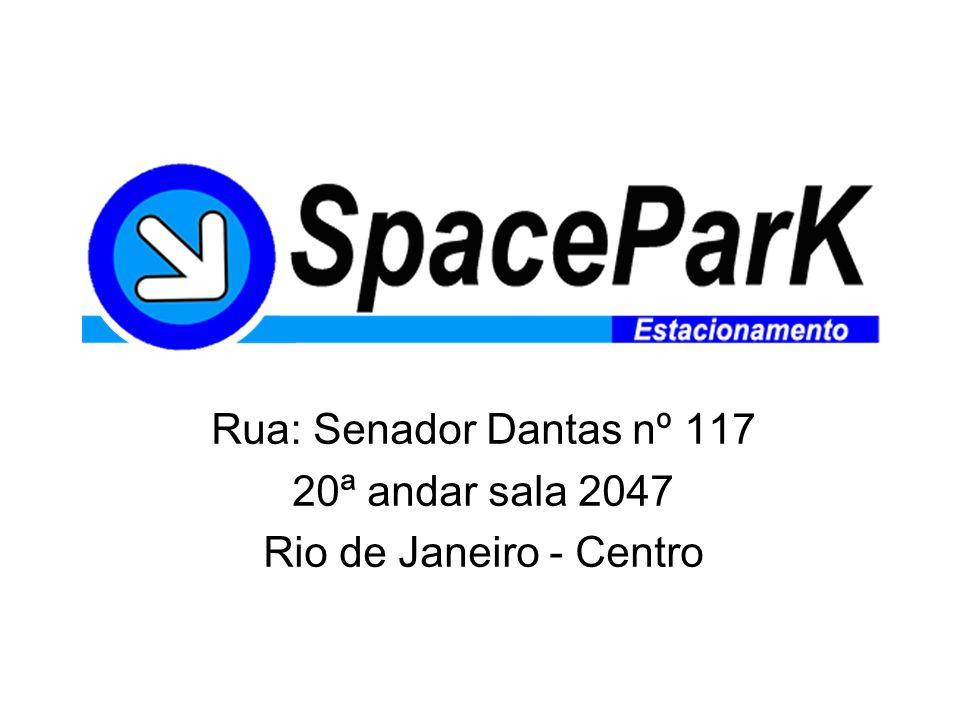 Rua: Senador Dantas nº 117 20ª andar sala 2047 Rio de Janeiro - Centro