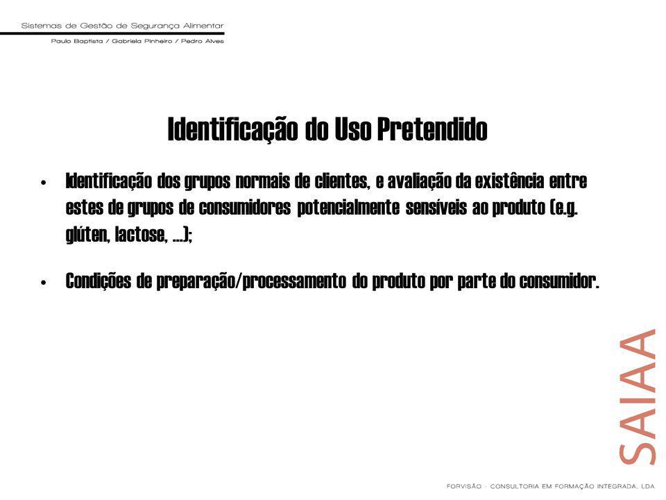Identificação dos grupos normais de clientes, e avaliação da existência entre estes de grupos de consumidores potencialmente sensíveis ao produto (e.g.