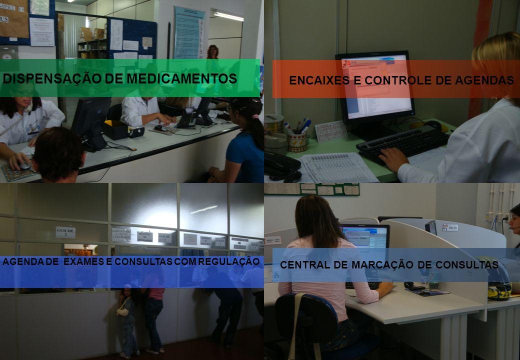 Secretaria Municipal de Saúde - Caxias do Sul DISPENSAÇÃO DE MEDICAMENTOS AGENDA DE EXAMES E CONSULTAS COM REGULAÇÃO ENCAIXES E CONTROLE DE AGENDAS CE