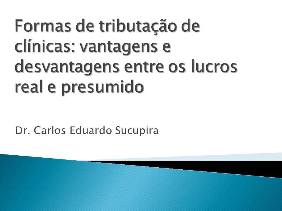 Assim, clínicas oftalmológicas que se enquadram nesta mais nova definição serviços hospitalares podem, com mais segurança, optar pelo recolhimento de IR e CSLL com base no lucro presumido de 8%.