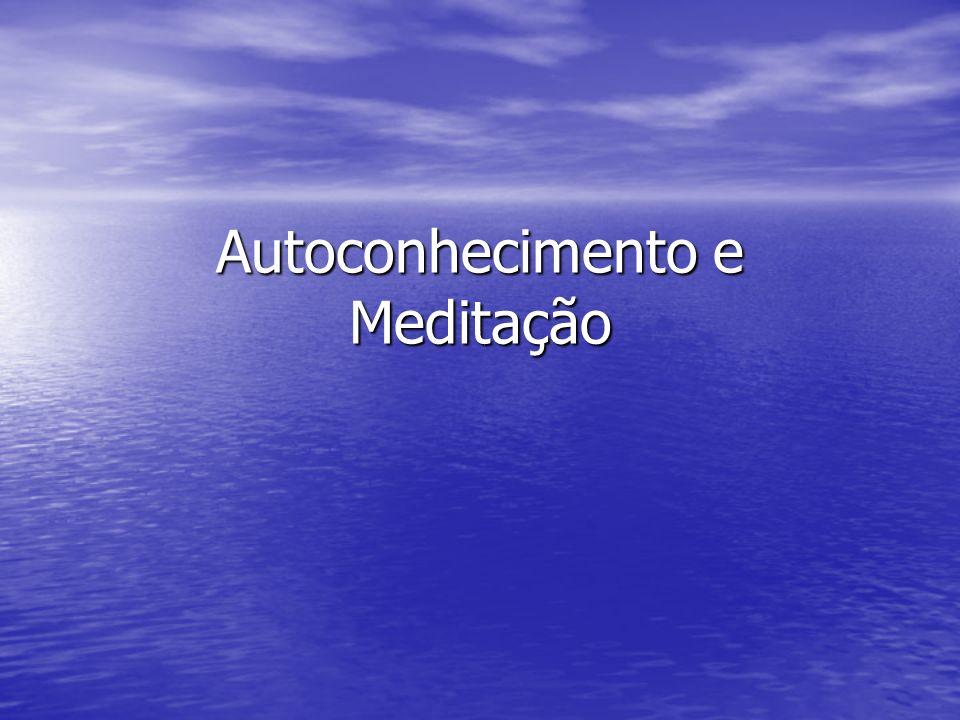 Meditação A meditação amplia a visão a respeito do mal, ao tempo em que equipa o homem de lucidez, fornecendo-lhe os instrumentos próprios para cuidar desse adversário cruel.