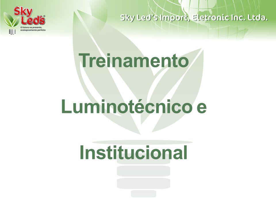 Treinamento Luminotécnico e Institucional