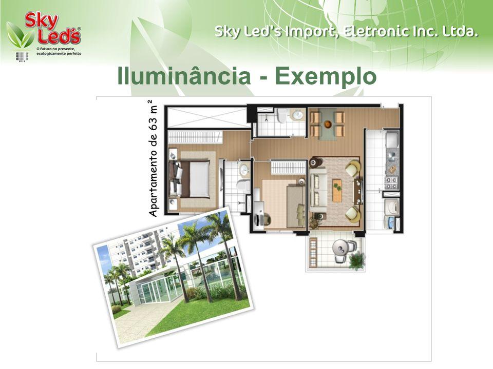 Iluminância - Exemplo