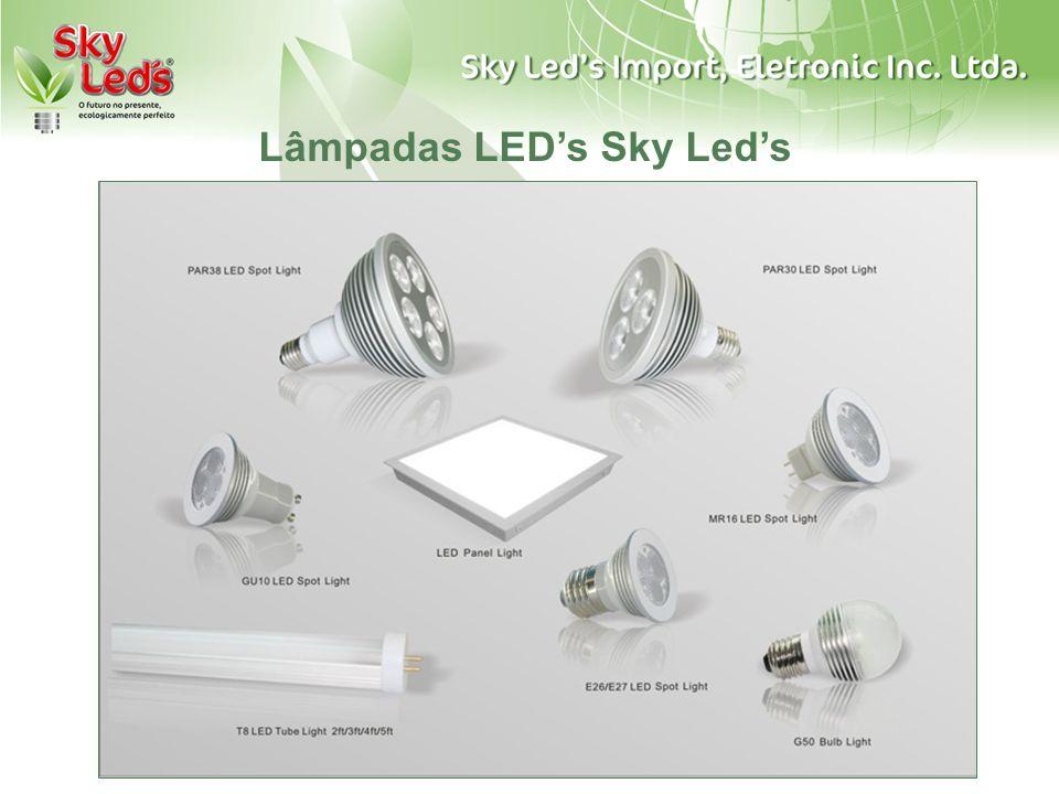 Lâmpadas LEDs Sky Leds
