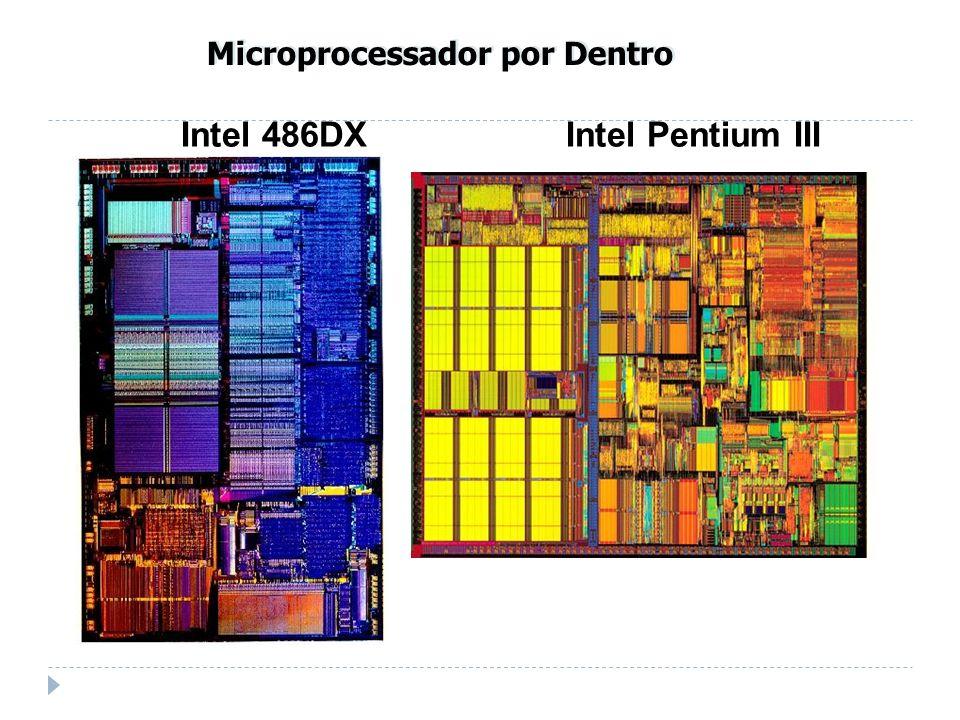 Intel 486DX Intel Pentium III Microprocessador por Dentro