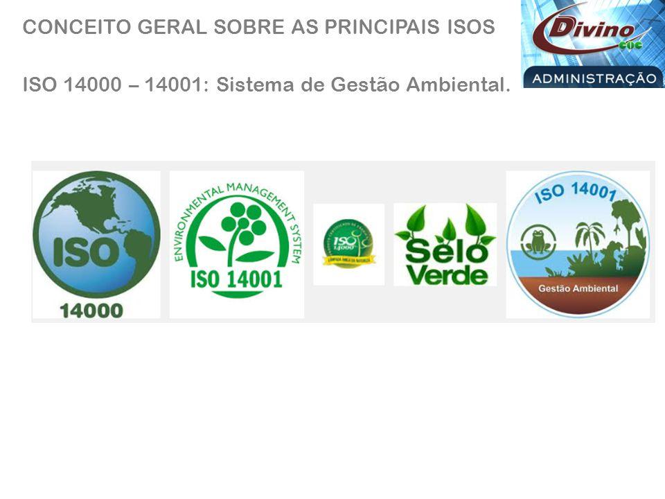 ISO 22000 - Sistema de gestão da segurança de alimentos.