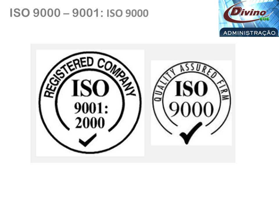 CONCEITO GERAL SOBRE AS PRINCIPAIS ISOS ISO 14000 – 14001: Sistema de Gestão Ambiental.