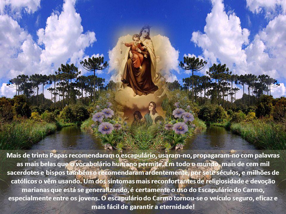 E muitos outros santos o usava: Santo Afonso Maria de Ligório, São Pedro Claver, São João Bosco recebeu-o na infância e o difundiu durante toda a vida