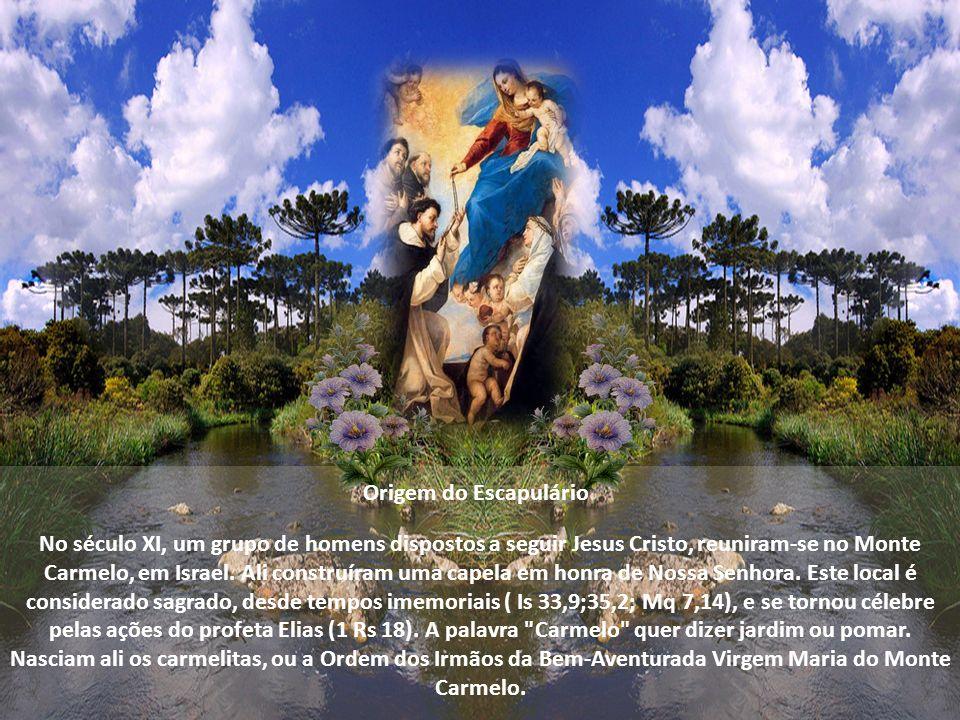 Para os religiosos carmelitas, é símbolo de consagração religiosa na Ordem de Nossa Senhora do Carmo. Para os fiéis leigos, para o povo, é símbolo de
