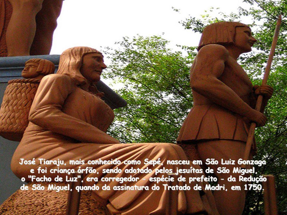 Os índios guaranis e tapes foram atraídos pela pregação do evangelho feita pelos padres jesuítas, decididos a criar uma série de repúblicas teocrática