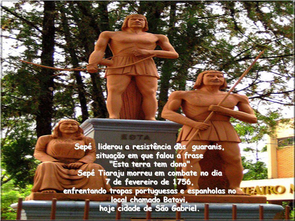Por esse tratado, os reis de Portugal e Espanha trocaram os Sete Povos das Missões pela Colônia do Sacramento, obrigando cerca de 50 mil índios cristã