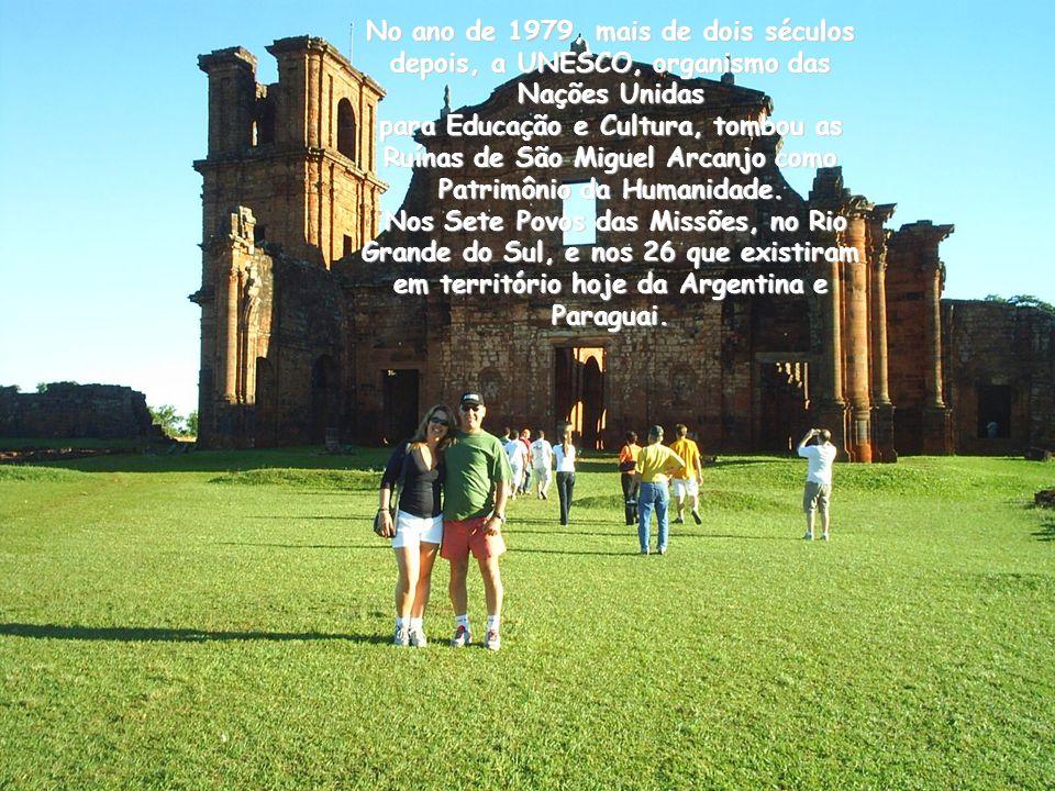 Nos últimos anos das Missões Guaranis, entre a morte de Sepé Tiaraju, em 1756, e a expulsão de todos os jesuítas da América do Sul, no ano de 1768, Vo
