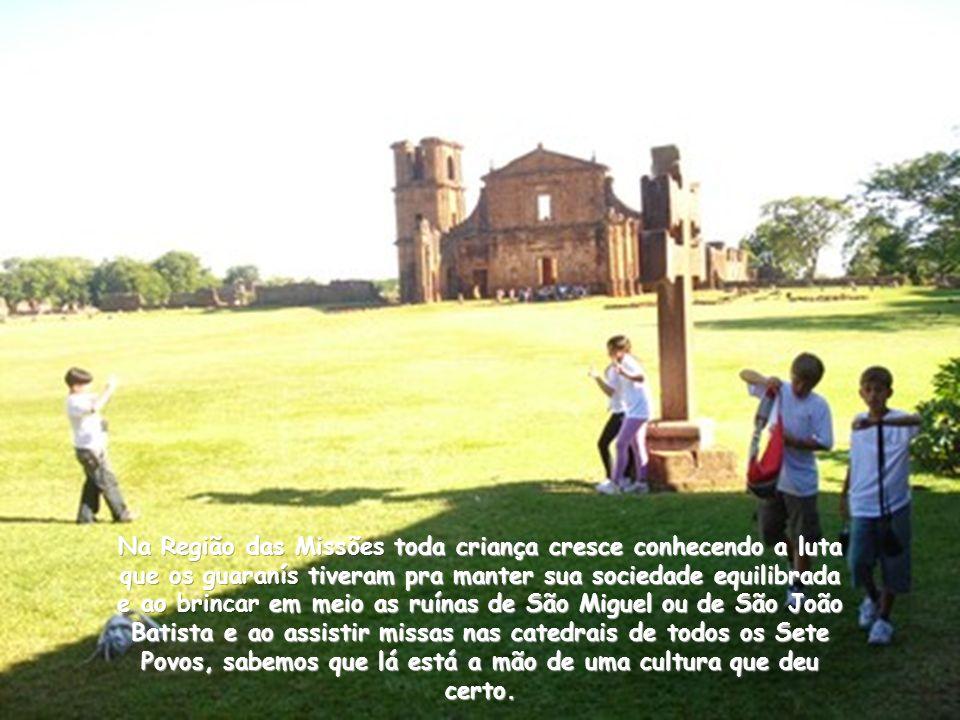 Em nome de bandeirantes portugueses conseguirem meia dúzia de escravos índios para trabalhar no crescimento de São Paulo e das Minas Gerais, dizimou-s
