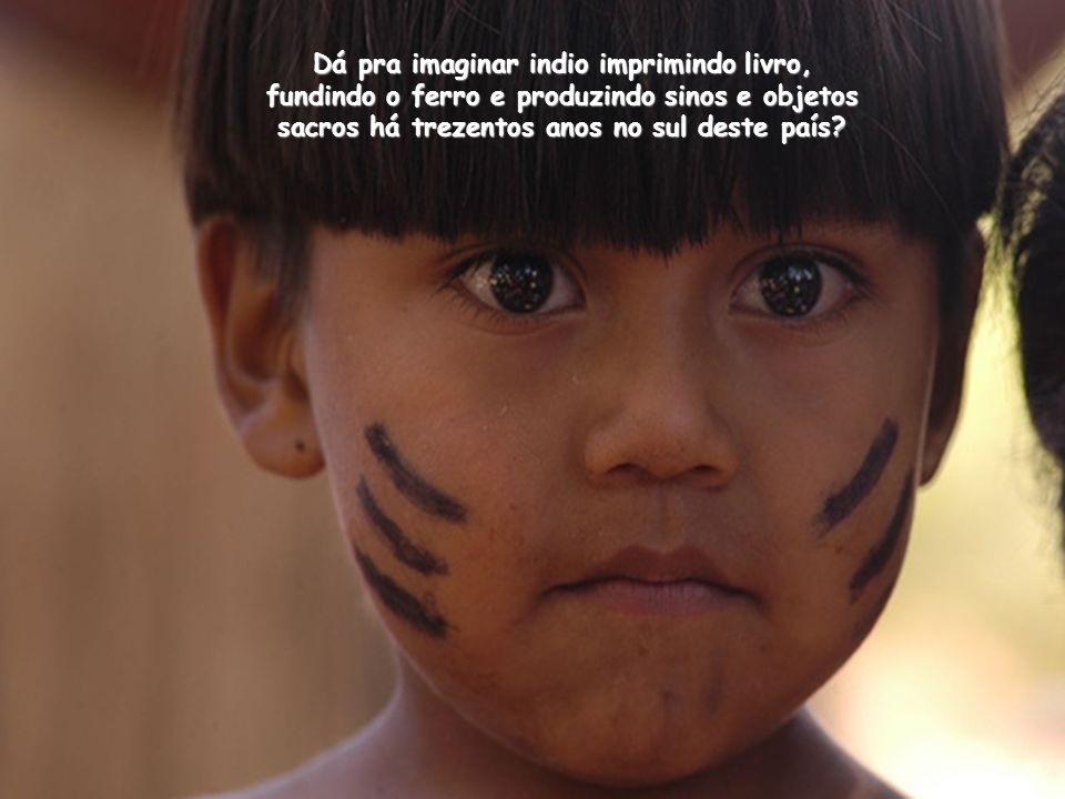 A paz foi construída através do trabalho comunitário e cooperativo. Guarani na língua guaraní significa Guerreiro. Esses guerreiros, homens e mulheres