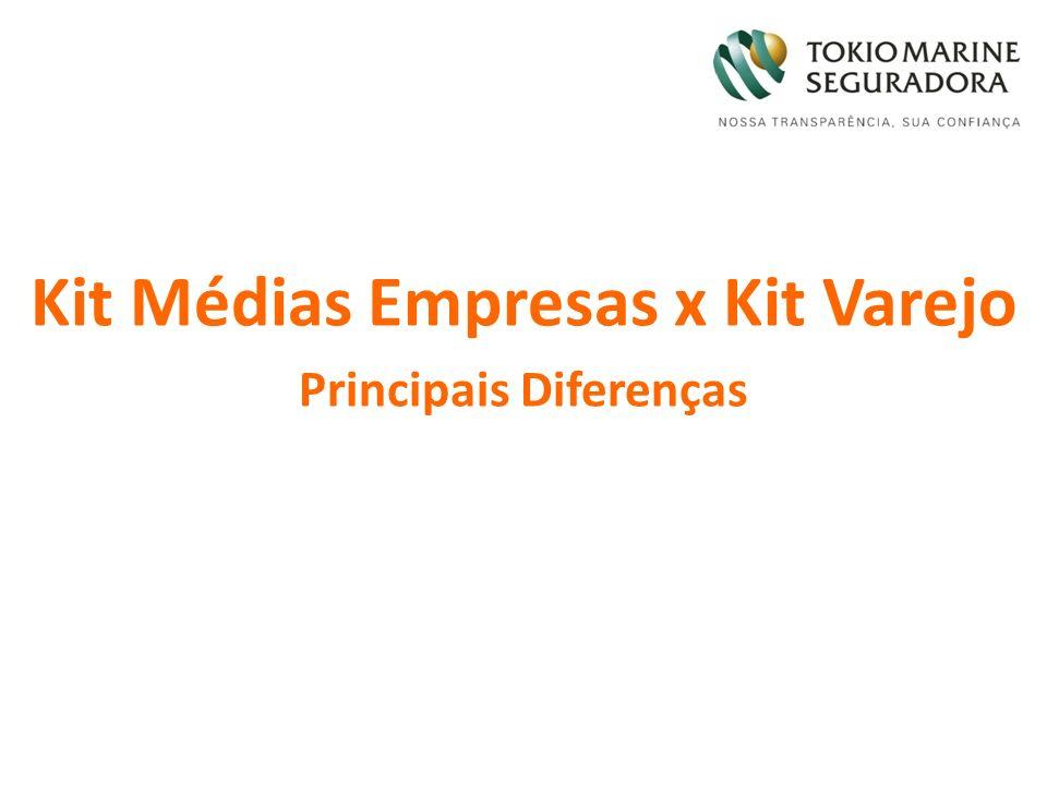 Kit Médias Empresas x Kit Varejo Principais Diferenças