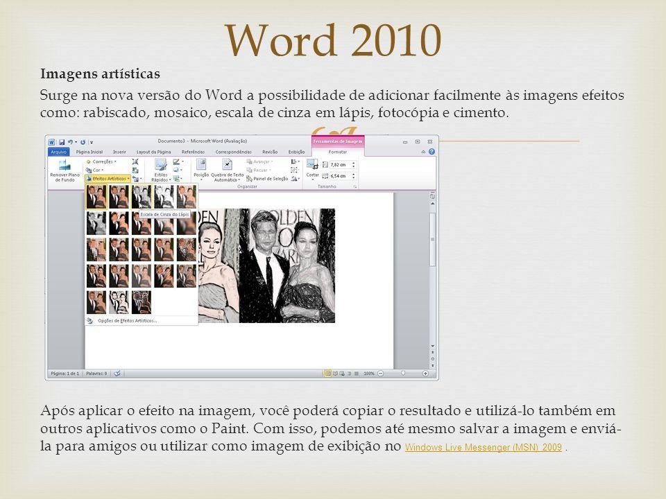Word 2010 Revisão e Sublinhados Conforme você digita, o Word pode ocasionalmente inserir um sublinhado ondulado vermelho, verde ou azul abaixo do text