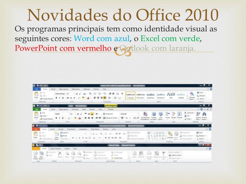 Word 2010 Simulação dos menus do Office 2003 Ferramenta para o Office 2010 que retorna os menus do Office2003 (a versão Home and Student é grátis). ww