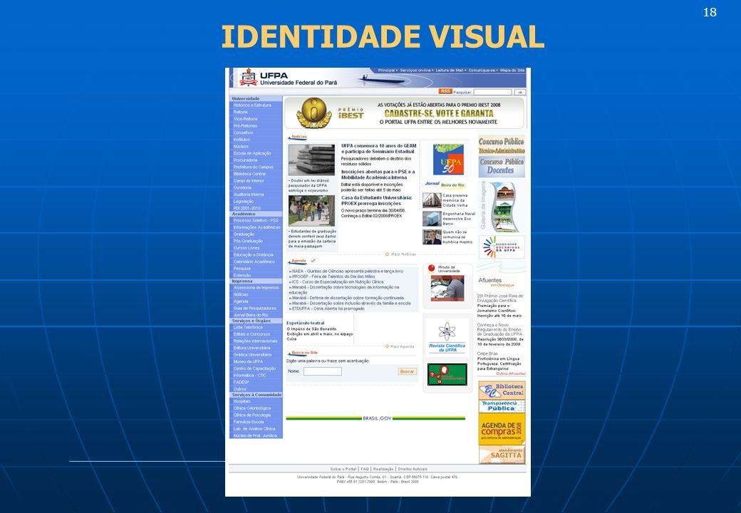18 IDENTIDADE VISUAL