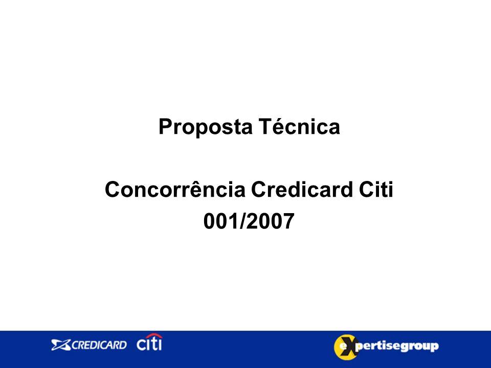 Proposta Técnica Concorrência Credicard Citi 001/2007