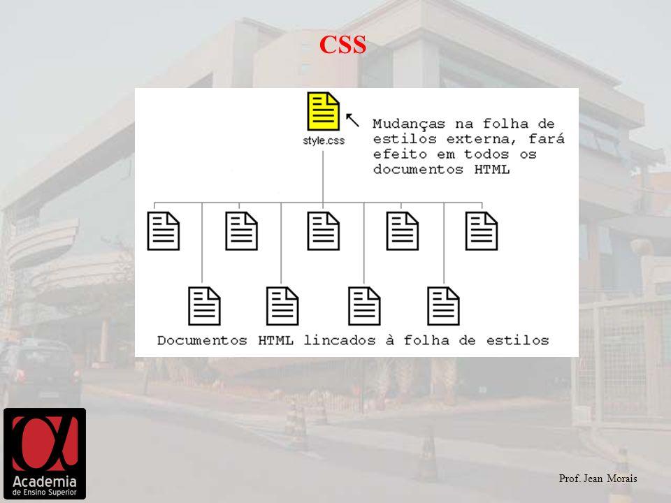 Prof. Jean Morais CSS