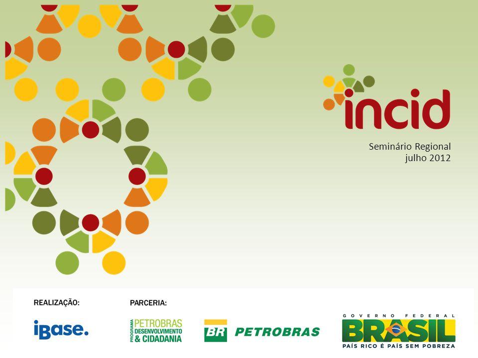 SEMINÁRIO REGIONAL INCID (INDICADORES DA CIDADANIA) – RIO BONITO, MARICÁ E SAQUAREMA DIREITOS