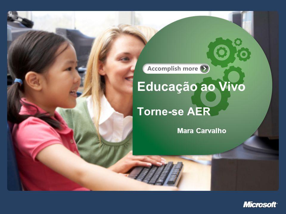 Educação ao Vivo Torne-se AER Mara Carvalho