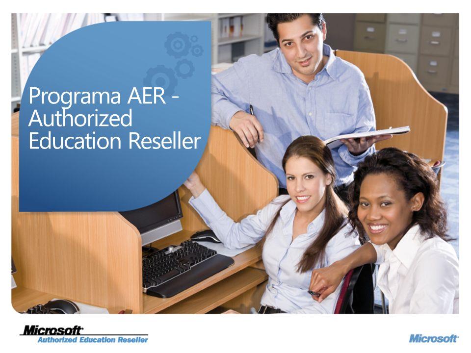 Programa AER - Authorized Education Reseller