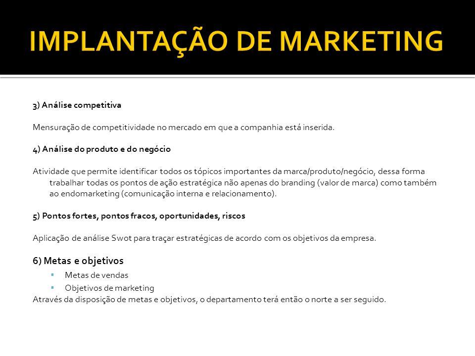 7) Estratégias Posicionamento Produto Preço Distribuição Comunicação/promoção De que maneira o marketing poderá auxiliar no aumento das minhas vendas.