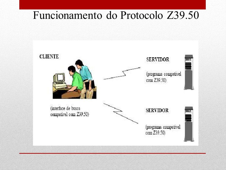 Funcionamento do Protocolo Z39.50