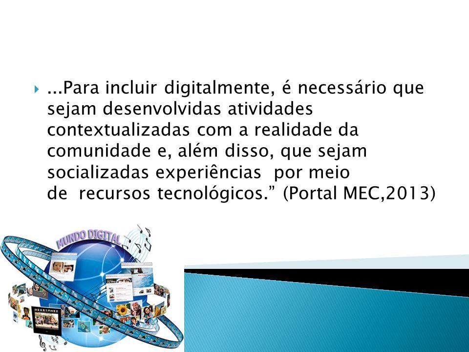 Exclusão Digital Definição mínima que passa pelo acesso ao computador aos conhecimentos básicos para utilizá-lo; Um consenso que amplia a noção de exclusão digital e a vincula ao acesso à rede mundial de computadores.