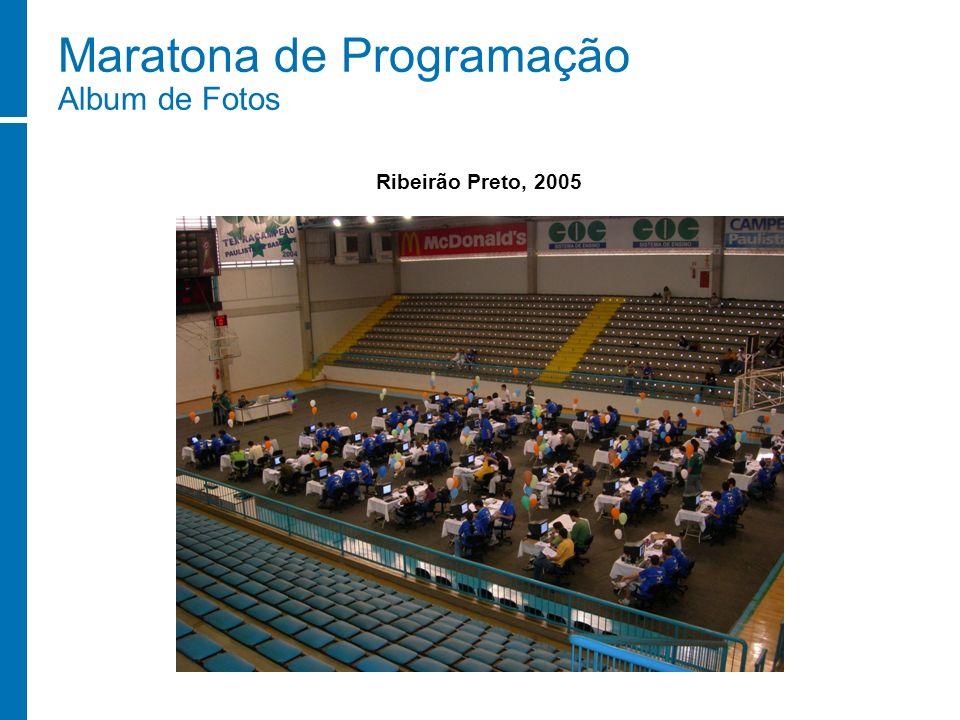 Maratona de Programação Album de Fotos Ribeirão Preto, 2005