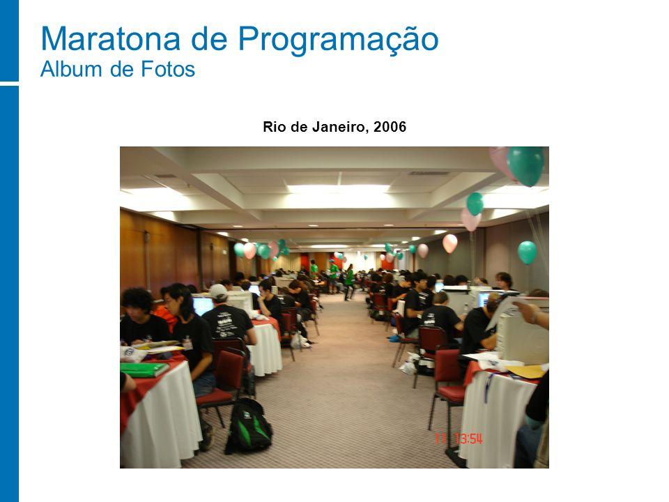 Maratona de Programação Album de Fotos Rio de Janeiro, 2006
