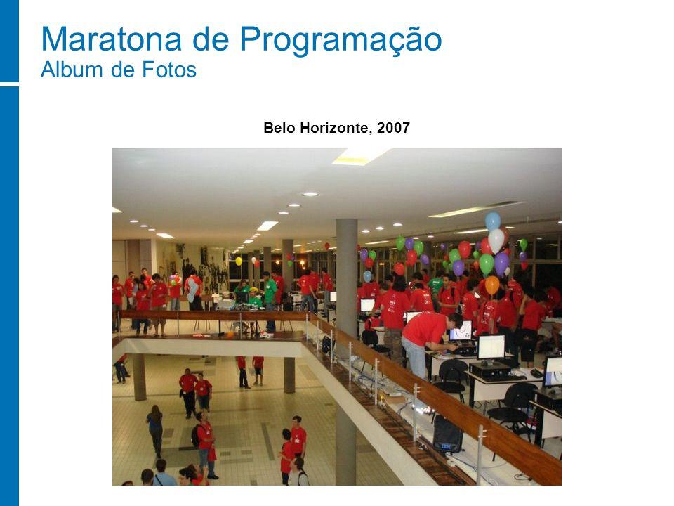 Maratona de Programação Album de Fotos Belo Horizonte, 2007