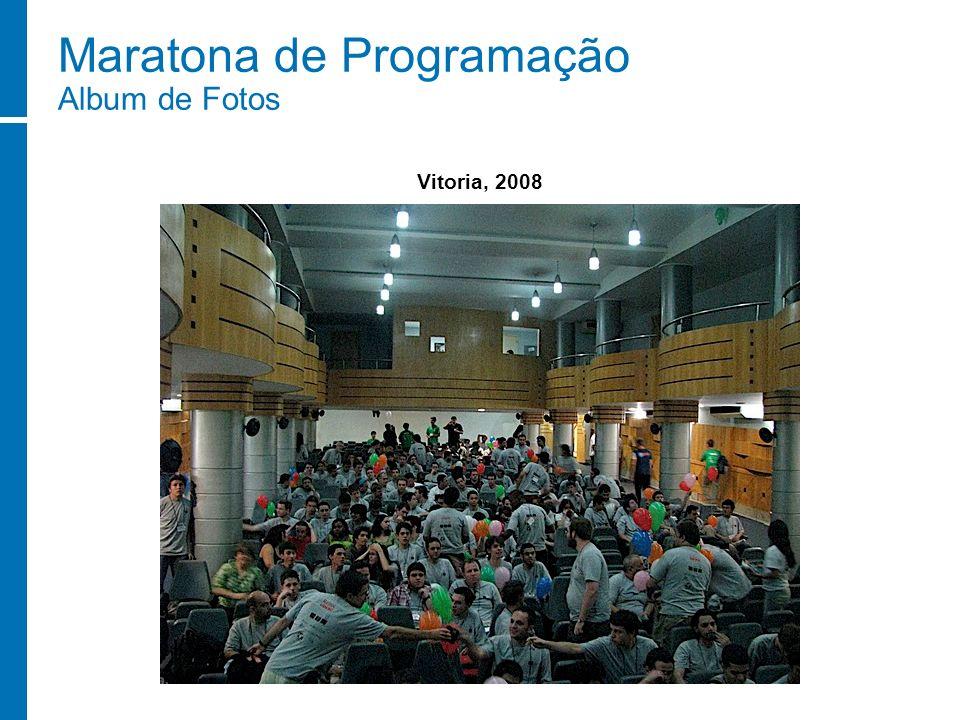 Maratona de Programação Album de Fotos Vitoria, 2008