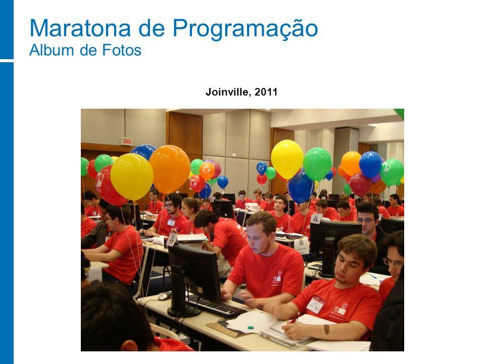 Maratona de Programação Album de Fotos Joinville, 2011