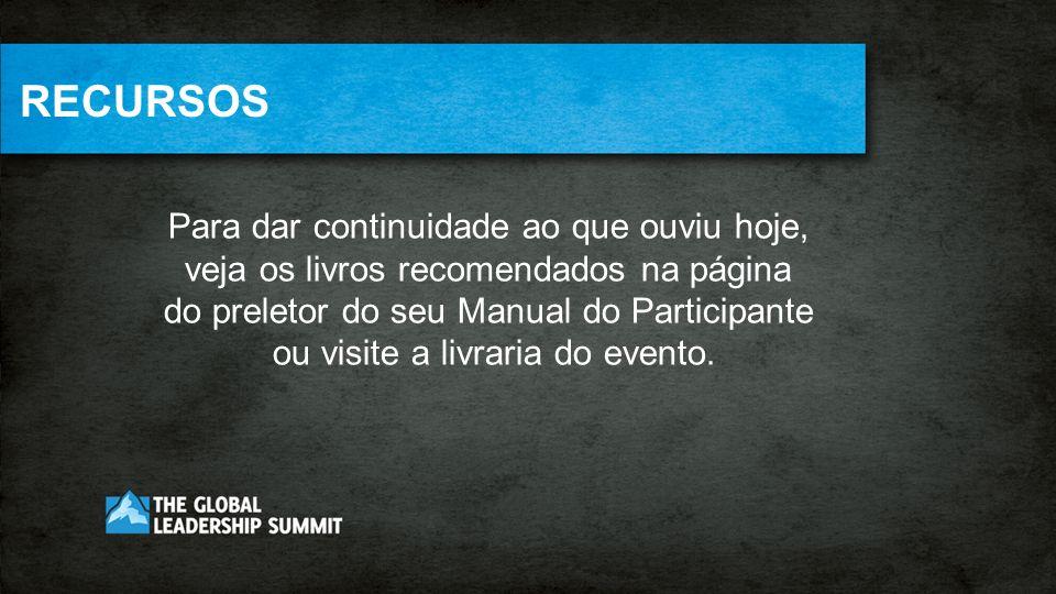 EDIÇÃO DE EQUIPE – SUMMIT 2012 Leve o impacto de transformação para sua equipe ou grupo pequeno.