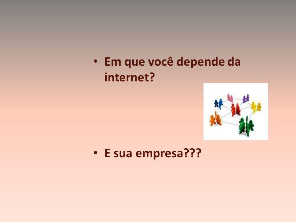 A internet Não é uma rede de computadores É UMA REDE DE PESSOAS.