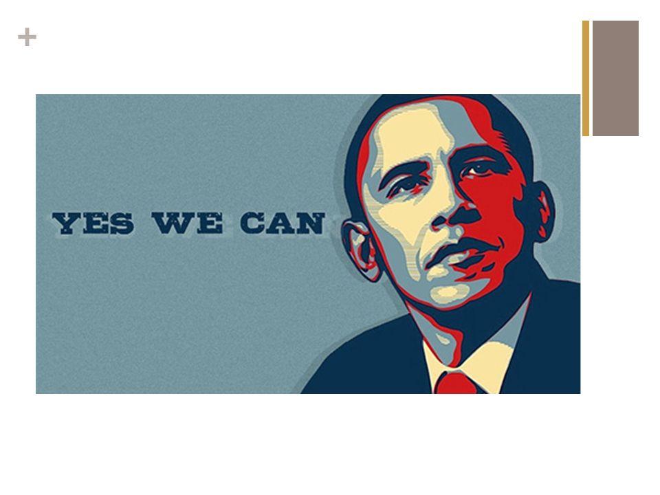 + Obama: Yes, we can A popularizac ̧ a ̃ o e uso orquestrado de Twitter, Facebook e MySpace Base de dados por e-mail de aprox.