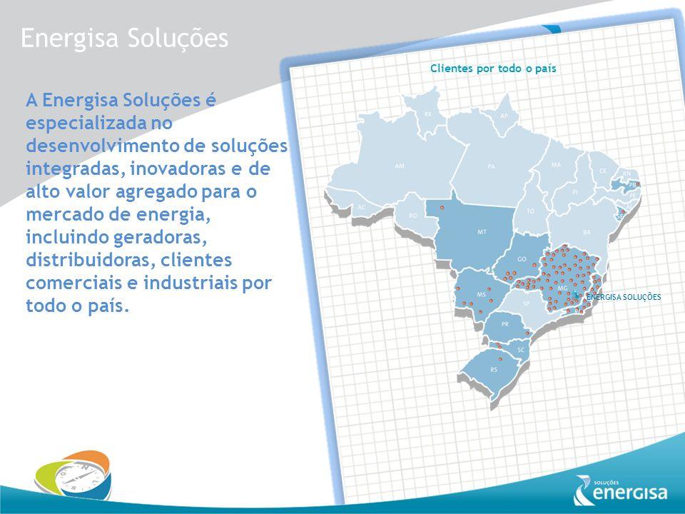 A Energisa Soluções é especializada no desenvolvimento de soluções integradas, inovadoras e de alto valor agregado para o mercado de energia, incluind