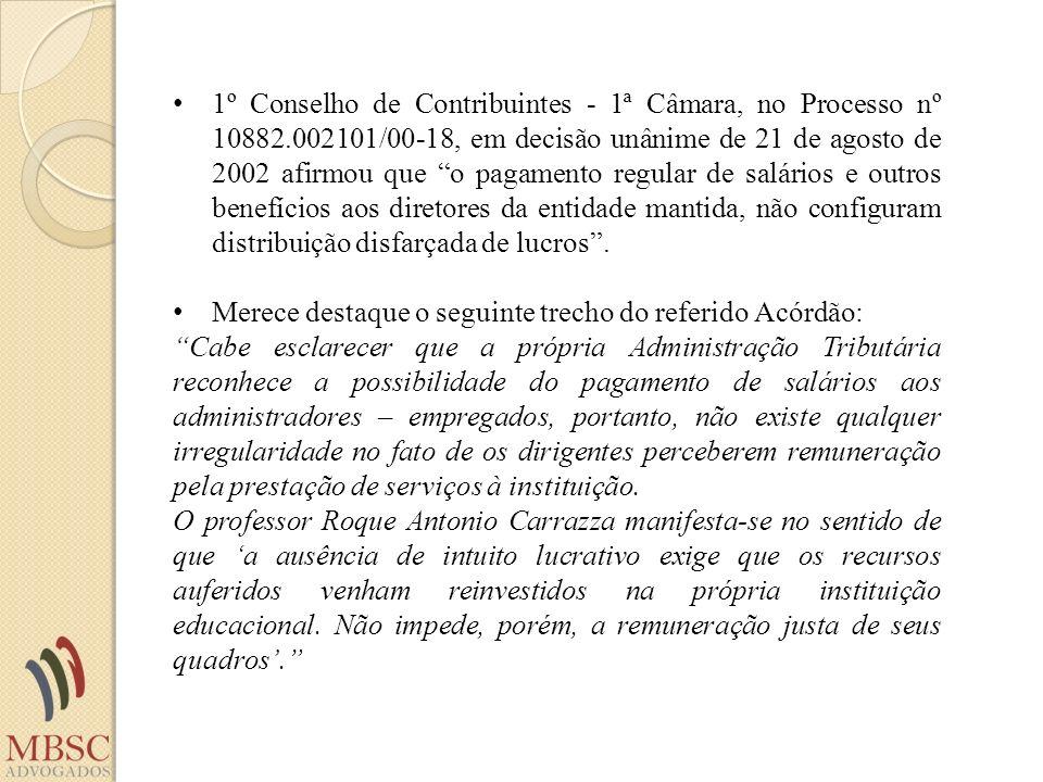 1º Conselho de Contribuintes - 1ª Câmara, no Processo nº 10882.002101/00-18, em decisão unânime de 21 de agosto de 2002 afirmou que o pagamento regula