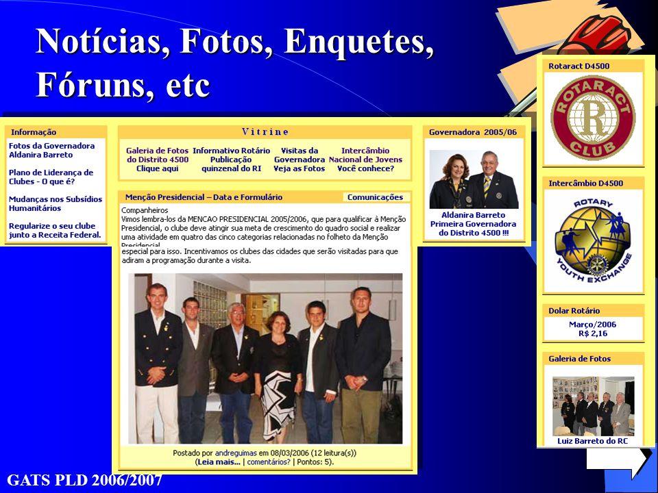 GATS PLD 2006/2007 Notícias, Fotos, Enquetes, Fóruns, etc