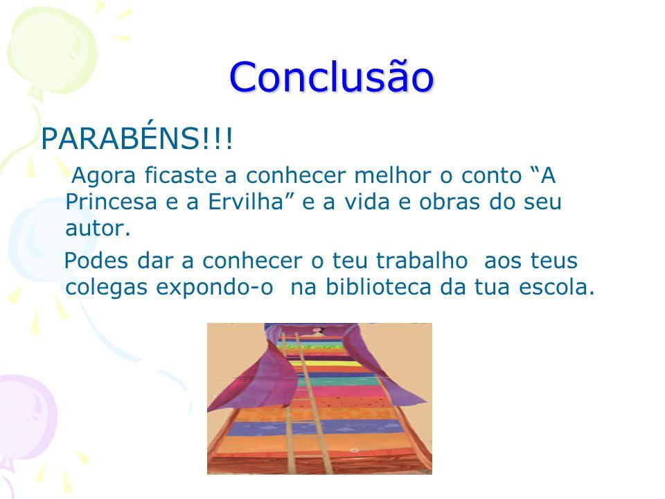 Conclusão PARABÉNS!!.