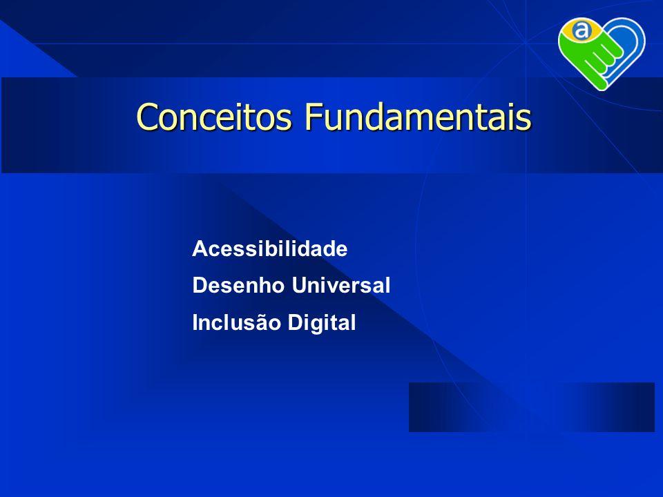 Conceitos Fundamentais Acessibilidade Desenho Universal Inclusão Digital