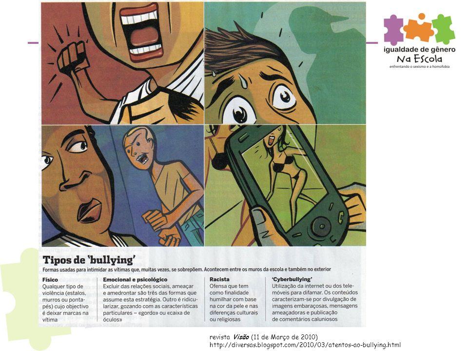 revista Visão (11 de Março de 2010) http://diversas.blogspot.com/2010/03/atentos-ao-bullying.html