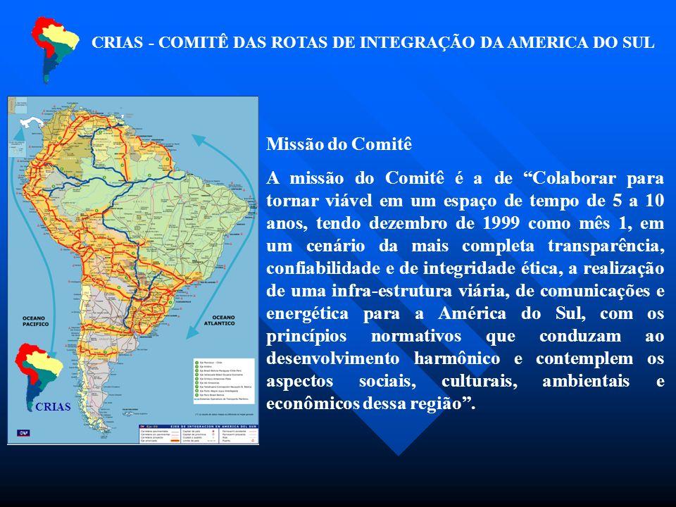 Missão do Comitê A missão do Comitê é a de Colaborar para tornar viável em um espaço de tempo de 5 a 10 anos, tendo dezembro de 1999 como mês 1, em um