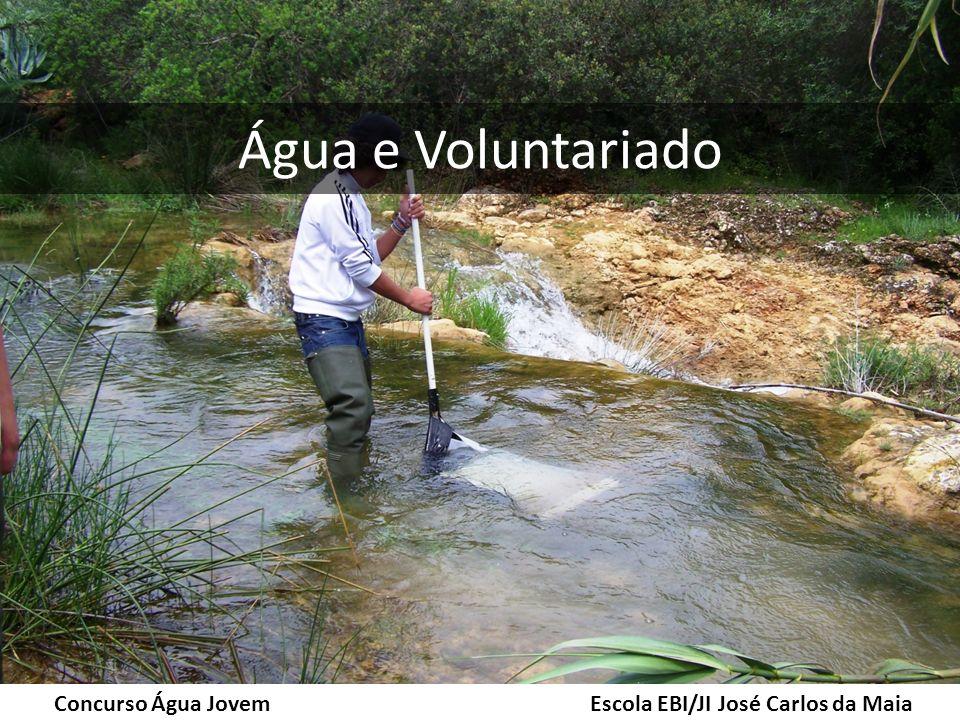 Água e Voluntariado Concurso Água Jovem Escola EBI/JI José Carlos da Maia
