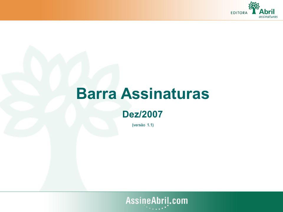 Barra Assinaturas Dez/2007 (versão 1.1)