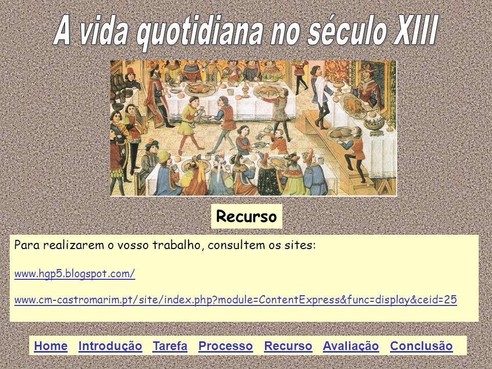 Recurso Para realizarem o vosso trabalho, consultem os sites: www.hgp5.blogspot.com/ www.cm-castromarim.pt/site/index.php?module=ContentExpress&func=d