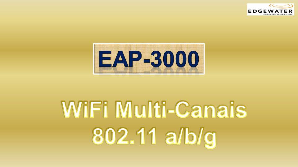 Vantagens EAP-3000 Desempenho Flexibilidade Segurança Acessibilidade