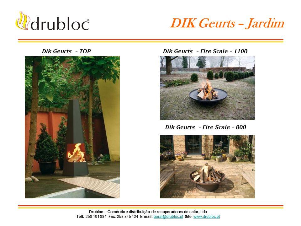 Drubloc – Comércio e distribuição de recuperadores de calor, Lda Telf: 258 101 884 Fax: 258 845 134 E-mail: geral@drubloc.pt Site: www.drubloc.ptgeral